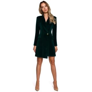 Made Of Emotion Womans Dress M562 dámské Green S