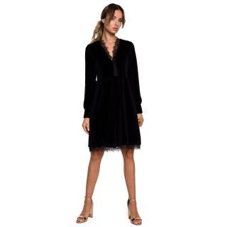 Made Of Emotion Womans Dress M563 dámské Black M