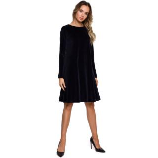 Made Of Emotion Womans Dress M566 Navy Blue dámské XXL