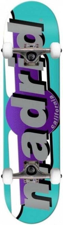 Madrid Complete Skateboard 7,25 Teal Turquoise