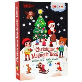 Magnetická kniha Vánoce / Christmas Magnetic Book