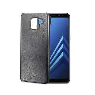 Magnetické pouzdro Celly Ghostcover pro Samsung Galaxy A8  černé