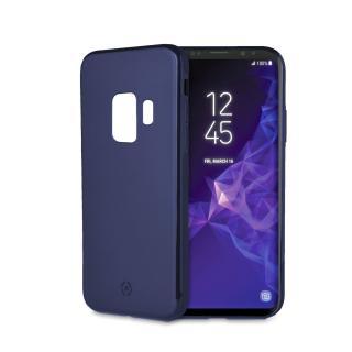 Magnetické TPU pouzdro Celly Ghostskin pro Samsung Galaxy S9 modré