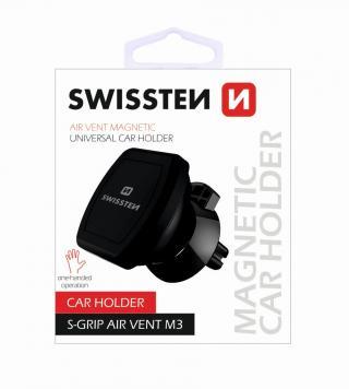 Magnetický držák do ventilace auta Swissten S-Grip Air vent M3