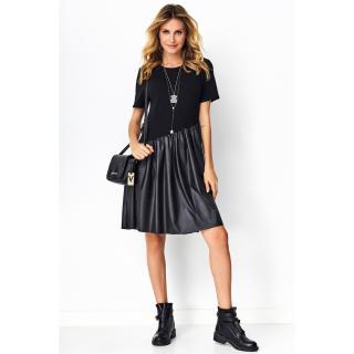 Makadamia Womans Dress M531 dámské Black 36