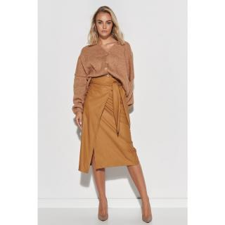 Makadamia Womans Sweater S110 Camel dámské Brown One size
