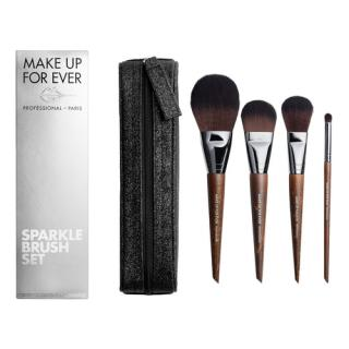 MAKE UP FOR EVER - Brush set sparkle - Vánoční sada štětců