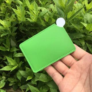 Make-up zrcátko s pouzdrem Barva: zelená