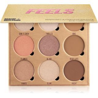 Makeup Obsession Feels konturovací a rozjasňující paleta 19,8 g dámské 19,8 g