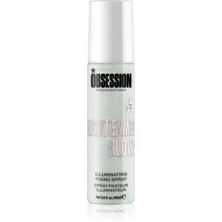 Makeup Obsession Fix & Glow rozjasňující fixační sprej odstín Lightening 100 ml dámské 100 ml