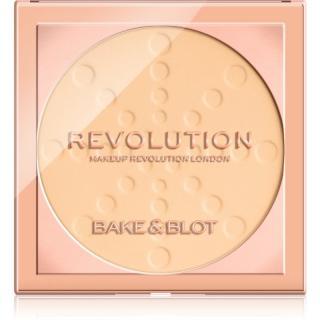 Makeup Revolution Bake & Blot fixační pudr odstín Banana Light 5,5 g dámské 5,5 g