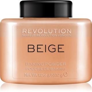 Makeup Revolution Baking Powder sypký pudr odstín Beige 32 g dámské 32 g
