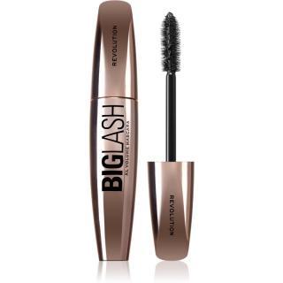 Makeup Revolution Big Lash Volume objemová a prodlužující řasenka odstín Black 8 ml dámské 8 ml