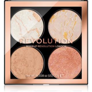 Makeup Revolution Cheek Kit paletka na tvář odstín Take a Breather 4 x 2,2 g dámské 4 x 2,2 g