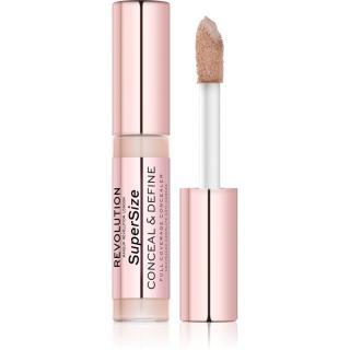 Makeup Revolution Conceal & Define SuperSize tekutý korektor odstín C2 13 g dámské 13 g