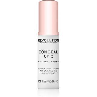Makeup Revolution Conceal & Fix matující podkladová báze pod make-up 30 ml dámské 30 ml