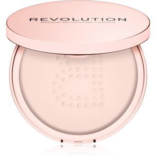 Makeup Revolution Conceal & Fix transparentní sypký pudr voděodolný odstín Light Pink 13 g dámské 13 g
