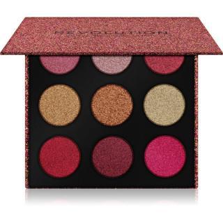 Makeup Revolution Euphoric Foil paletka očních stínů odstín House of Fun 18,9 g dámské 18,9 g