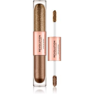 Makeup Revolution Eye Glisten tekuté oční stíny odstín Dreamland 2 x 2,2 ml dámské 2 x 2,2 ml