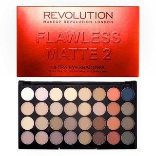Makeup Revolution Flawless Matte 2 Ultra Eyeshadow Palette paletka očních stínů 20 g