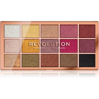 Makeup Revolution Foil Frenzy paleta metalických očních stínů odstín Creation 15 x 1,1 g dámské 15 x 1,1 g