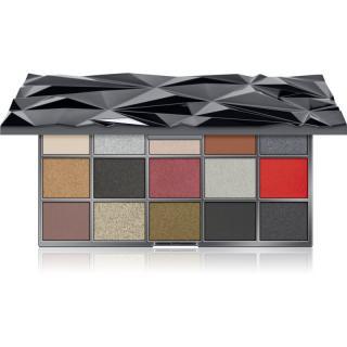 Makeup Revolution Glass Black Ice paleta očních stínů 16,5 g dámské 16,5 g