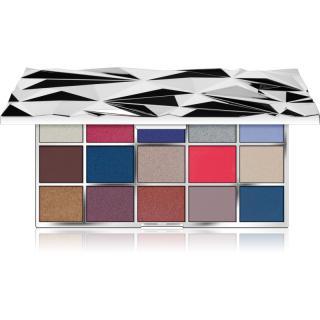 Makeup Revolution Glass Mirror paleta očních stínů 16,5 g dámské 16,5 g