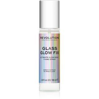Makeup Revolution Glass rozjasňující fixační sprej 100 ml dámské 100 ml