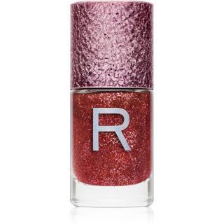 Makeup Revolution Glitter Nail třpytivý lak na nehty odstín Dazzle 10 ml dámské 10 ml