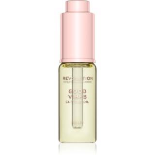 Makeup Revolution Good VIbes intenzivní péče pro suché nehty a nehtovou kůžičku s konopným olejem 15 ml dámské 15 ml