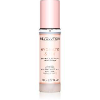 Makeup Revolution Hydrate & Fix fixační sprej na make-up 100 ml dámské 100 ml