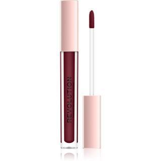 Makeup Revolution Lip Vinyl tekutá rtěnka pro zářivý lesk odstín Black Forest 3,6 ml dámské 3,6 ml