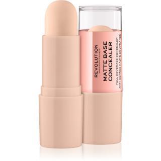 Makeup Revolution Matte Base korektor odstín C0,5 8 g dámské 8 g