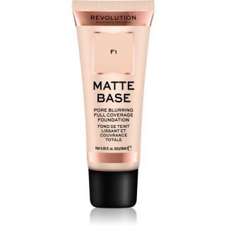 Makeup Revolution Matte Base krycí make-up odstín F1 28 ml dámské 28 ml