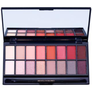 Makeup Revolution New-Trals vs Neutrals paleta očních stínů se zrcátkem a aplikátorem 16 g dámské 16 g