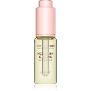 Makeup Revolution Nourish & Care intenzivní péče pro suché nehty a nehtovou kůžičku s mandlovým olejem 15 ml dámské 15 ml