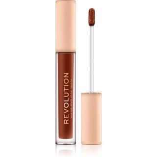 Makeup Revolution Nudes Collection Matte tekutá rtěnka odstín On Display 2,2 g dámské 2,2 g
