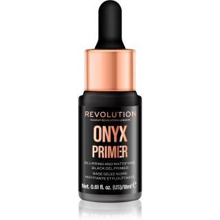 Makeup Revolution Onyx Primer matující podkladová báze pod make-up 18 ml dámské 18 ml