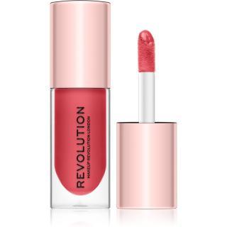 Makeup Revolution Pout Bomb lesk na rty pro větší objem s vysokým leskem odstín Peachy 4,6 ml dámské 4,6 ml