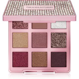 Makeup Revolution Precious Glamour paleta očních stínů odstín Glitz Up 7,2 g dámské 7,2 g