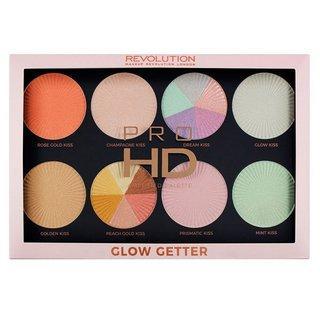 Makeup Revolution Pro HD Amplified Palette Glow Getter multifunkční paleta 24 g