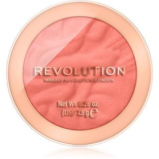 Makeup Revolution Reloaded dlouhotrvající tvářenka odstín Baked Peach 7,5 g dámské 7,5 g