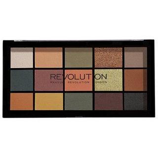 Makeup Revolution Reloaded Eyeshadow Palette - Iconic Division paletka očních stínů 16,5 g