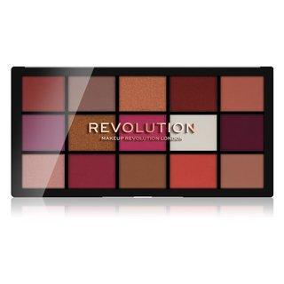 Makeup Revolution Reloaded Eyeshadow Palette - Red Alert paletka očních stínů 16,5 g
