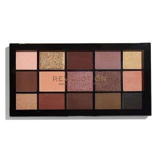 Makeup Revolution Reloaded Eyeshadow Palette - Velvet Rose paletka očních stínů 16,5 g