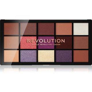 Makeup Revolution Reloaded Eyeshadow Palette - Visionary paletka očních stínů 16,5 g