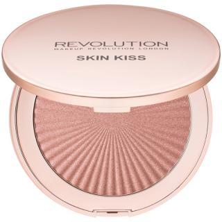 Makeup Revolution Skin Kiss rozjasňovač odstín Peach Kiss 14 g dámské 14 g
