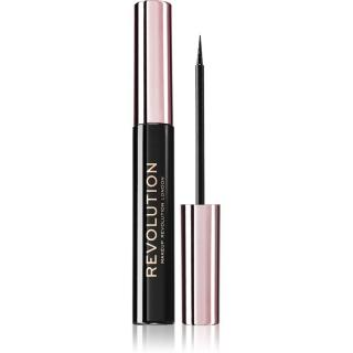 Makeup Revolution Super Flick oční linky odstín Black 4,5 ml dámské 4,5 ml