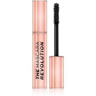Makeup Revolution The Mascara Revolution řasenka pro objem, délku a oddělení řas odstín Black 12 ml dámské 12 ml