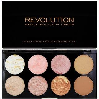 Makeup Revolution Ultra Blush Palette Golden Sugar multifunkční paleta 13 g